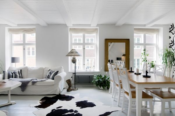 10 duplex interior designs with a swedish touch for Duplex interior house designs