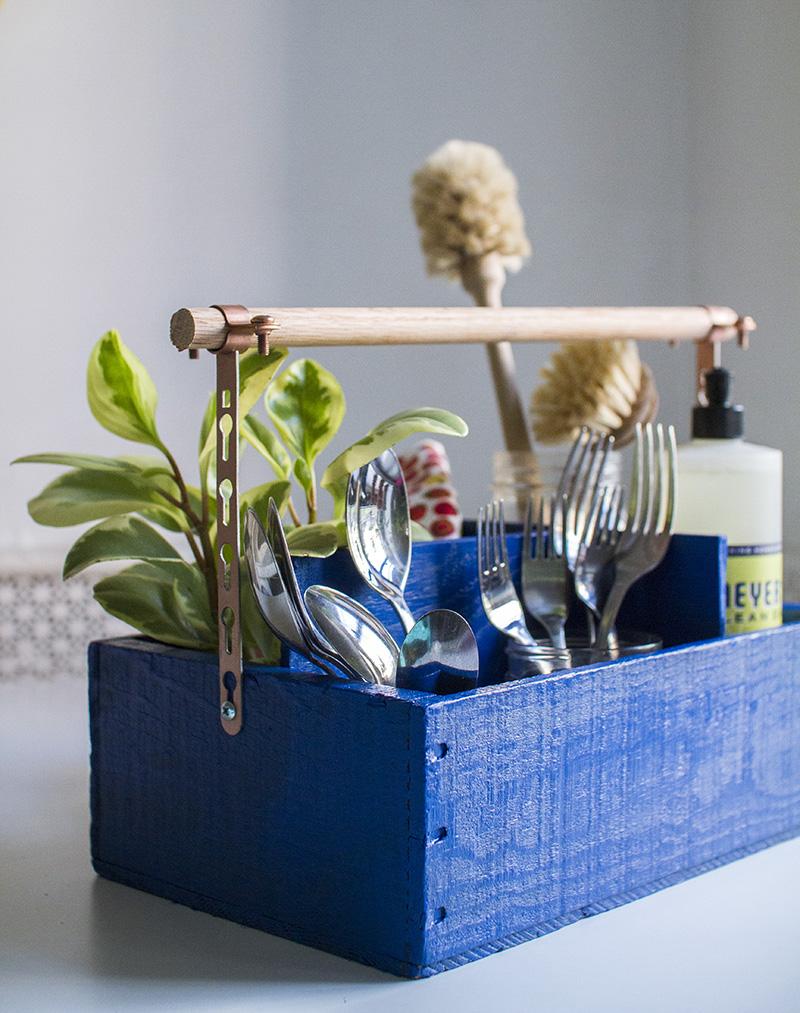utensil organizer diy