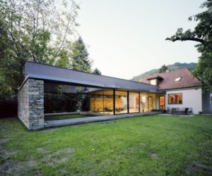 Villa SK – an addition by Atelier Thomas Pucher