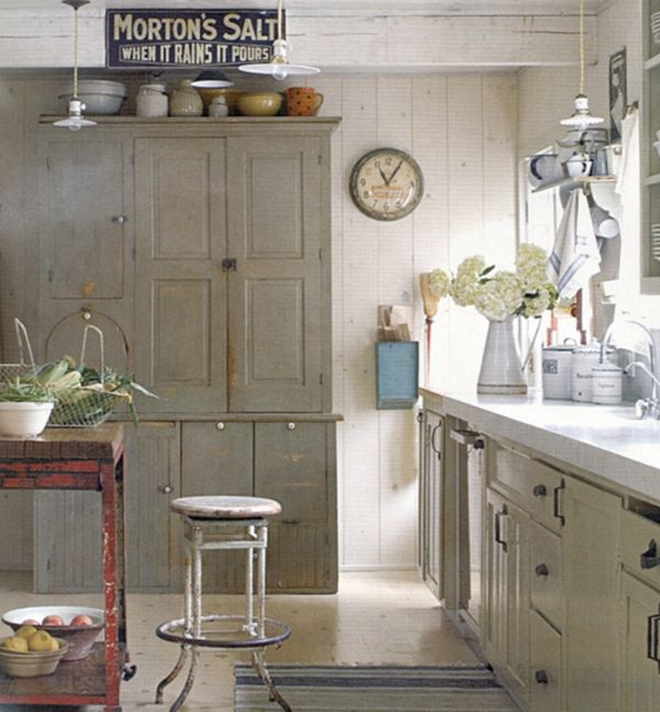 vintage country kitchen. View in gallery 5 Tips For A Cozy Farmhouse Kitchen