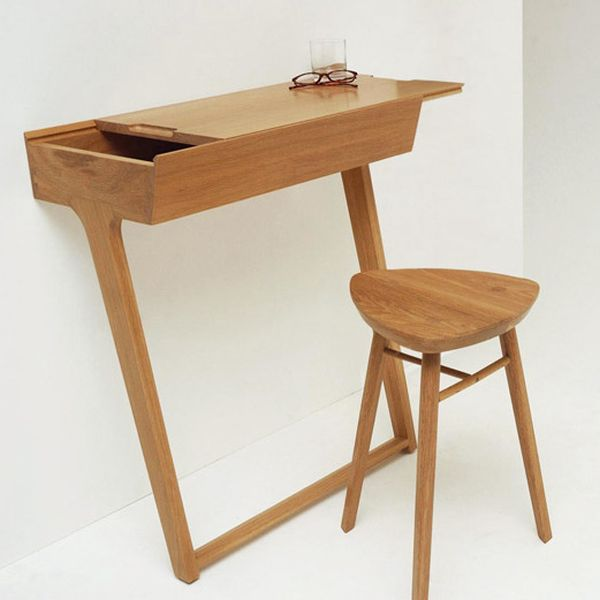 two legged table