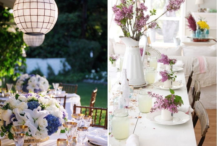 How to decorate for a home wedding for Home decorations for wedding