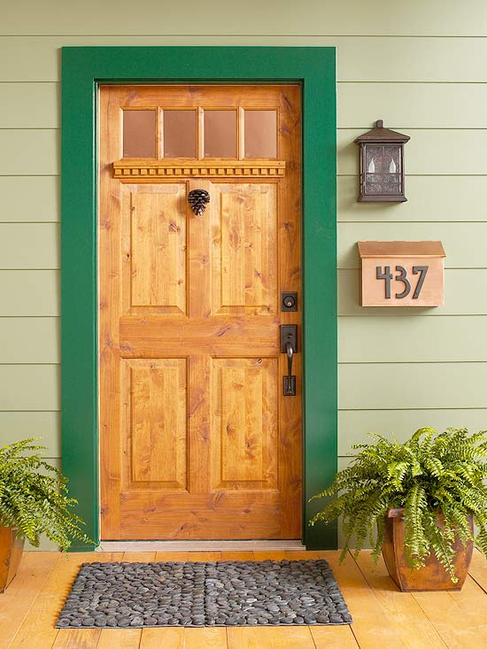 View in gallery & 7 Quick Ideas To Make Your Front Door Pop