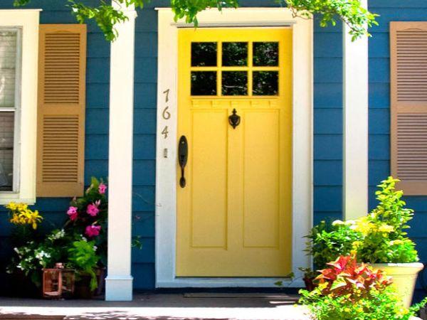 View in gallery & 7 Quick Ideas To Make Your Front Door Pop