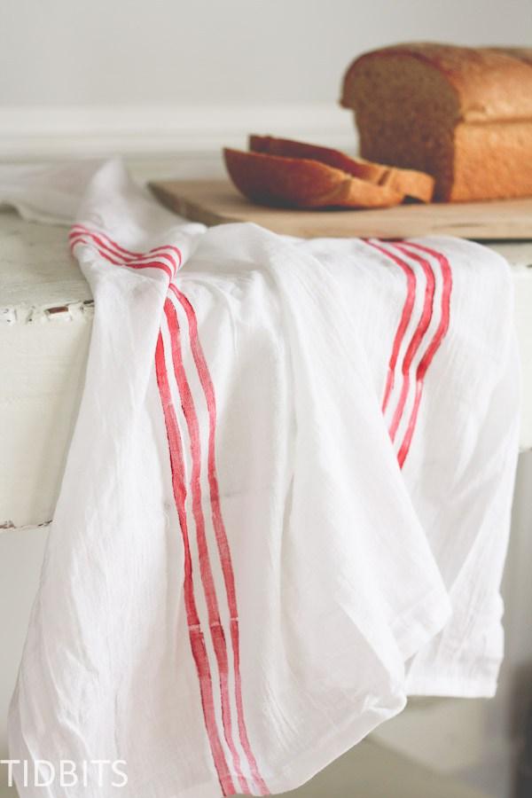 Cloth stripe DIY