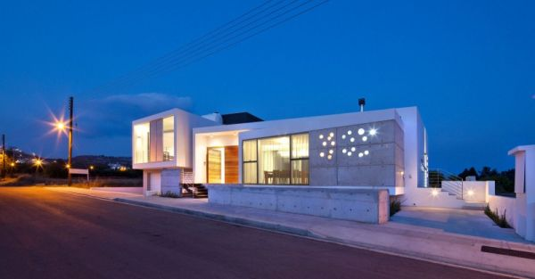 Contemporary Residence In Cyprus By LK Architects