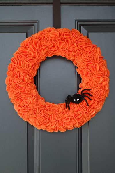 Simple Door Wreaths