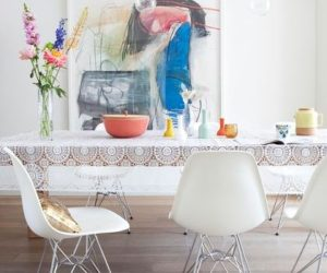 10 Beautiful Interior Designs Featuring The Eames® Molded Plastic Side Chairs