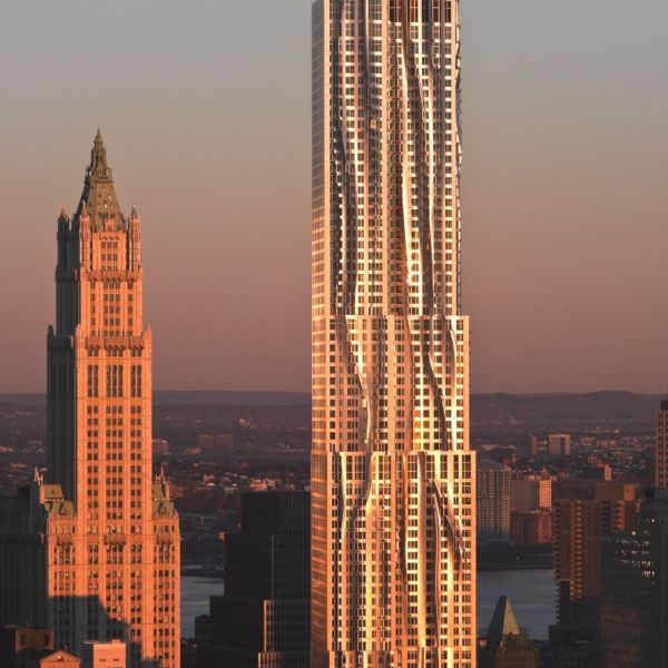 Which New York Building Is  Feet Tall