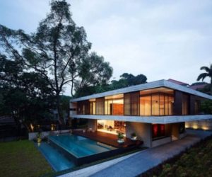 Feng Shui House in Singapore by ONG&ONG