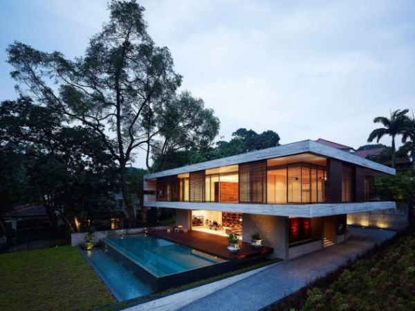 Feng Shui House In Singapore By Ong Ong