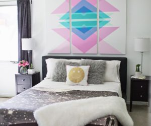 Bedroom Wall Decorating Ideas 15 easy diy wall art ideas you'll fall in love with