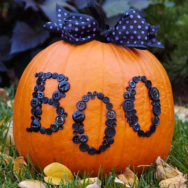 10 diy halloween pumpkin decorating ideas. Black Bedroom Furniture Sets. Home Design Ideas