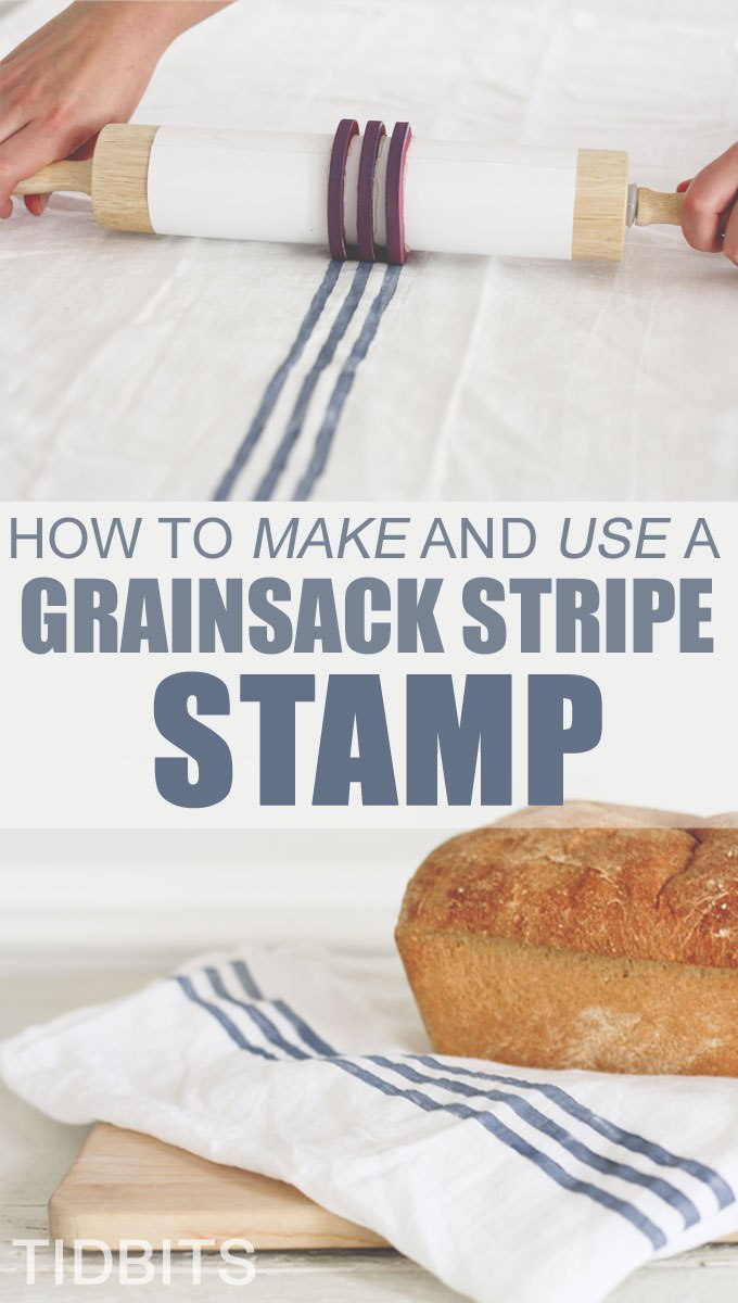 How to make stripes on cloth