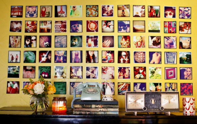 photo wall ideas instagram wall