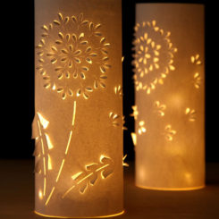 How To Make Paper Lanterns With Whimsical Designs