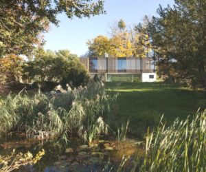 Nature Surrounded House of Lake Biel by Bauzeit Architekten