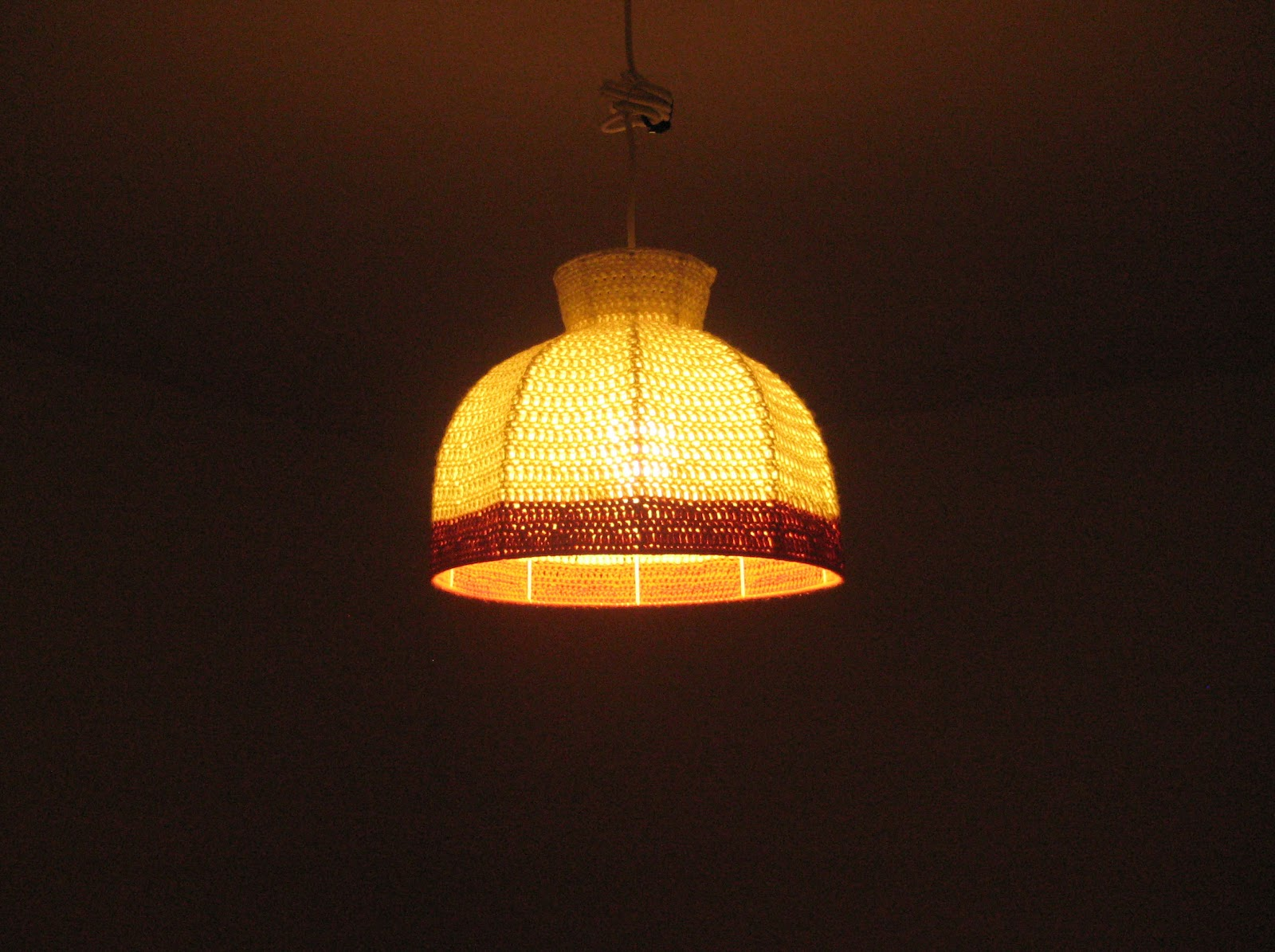 New yarn ceiling lampshade