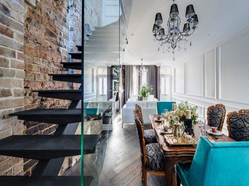 The most beautiful brick interior design in paddington sydney for Beautiful houses and interior designs