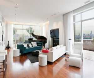 A stylish and spacious top floor penthouse apartment looking for a new owner