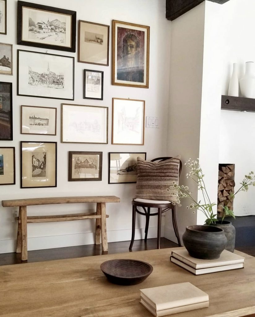 photo wall ideas Vintage Gallery Wall