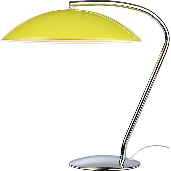 Lemon Yellow Lamp For Your Desk