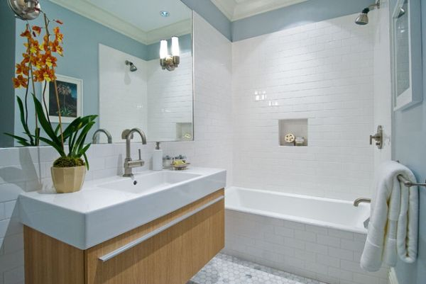 A Look that is Never Out-of-Date: White Subway Tile