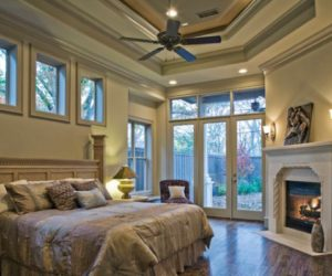 Bedroom fireplaces – a way of making this room even more warm, cozy and inviting