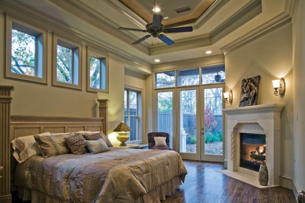 Bedroom Fireplaces U2013 A Way Of Making This Room Even More Warm, Cozy And  Inviting