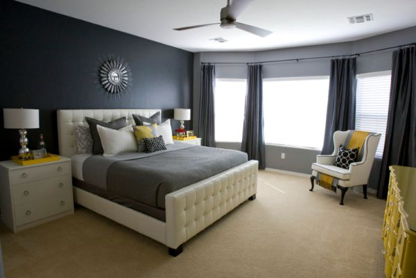 View In Gallery Black Accent Walls