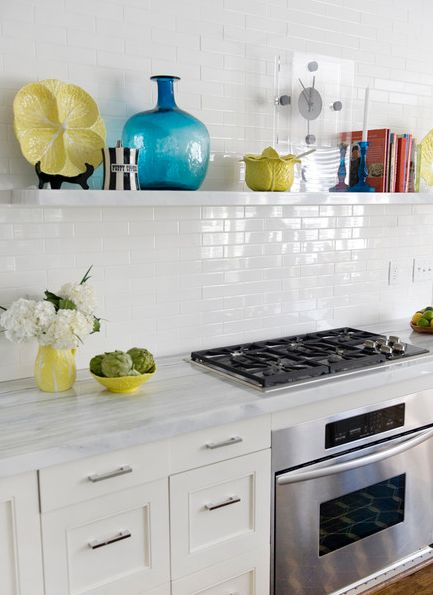 A Look That Is Never Out Of Date: White Subway Tile