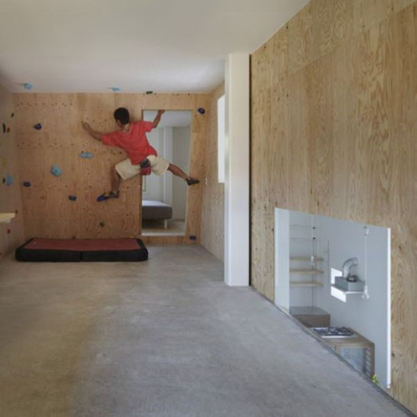 Modern Homes Featuring A Rock-Climbing Wall