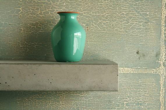 Minimalist Concrete Shelf