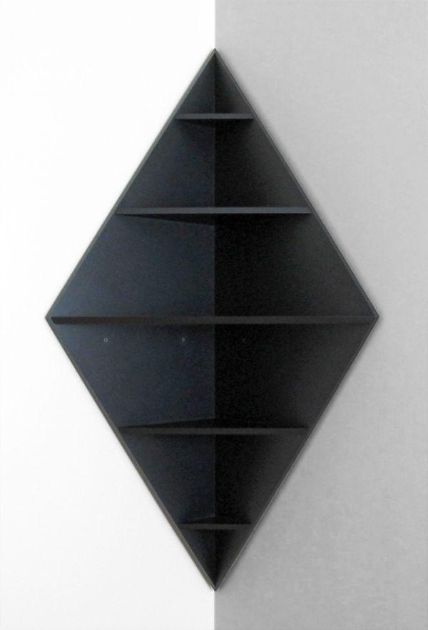 Chic 5 Level Diamond Corner Shelf