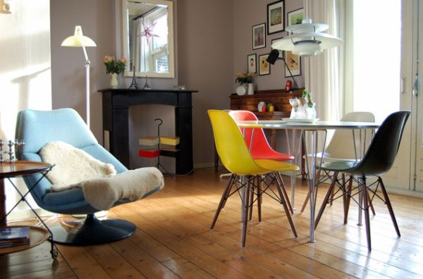 Eames Interior 10 beautiful interior designs featuring the eames® molded plastic