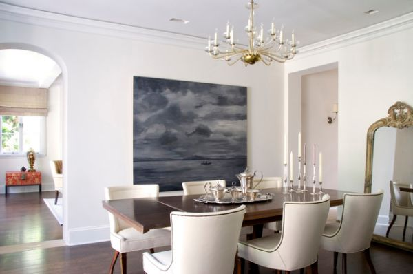 Decorate Using Oversized Art A Few Ideas And Suggestions