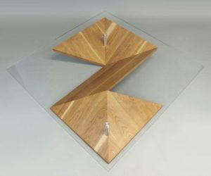 Origami table, a modern take on the ancient art of paper folding