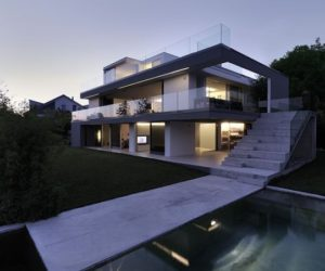 The highly modern Feldbalz House – a dream home coming true