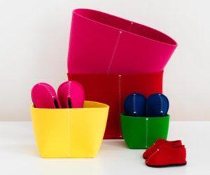 Useful Felt Storage Bin for Kids