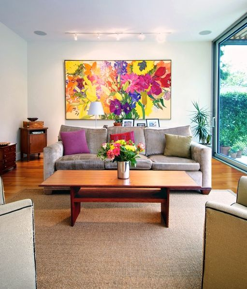 contemporary paintings for living room decorate using oversized a few ideas and suggestions 21878