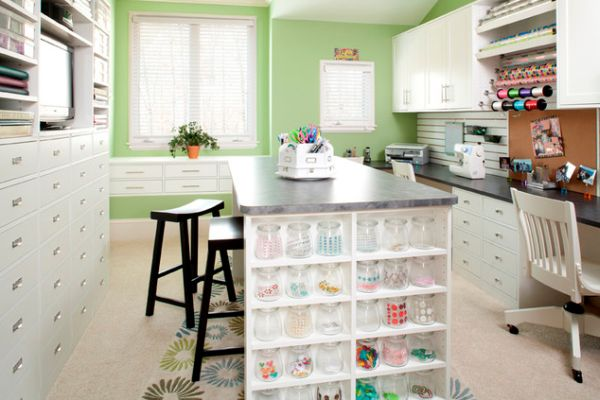 craft rooms ideas decorating beautiful craft room interior design ideas that make work 4038