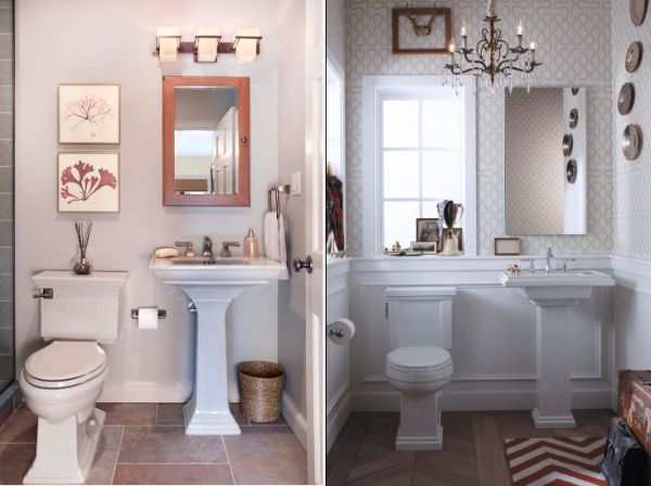 What you need to know before you choose an apartment with for Small 1 2 bathroom decorating ideas