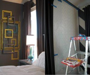DIY Layered Frame Gallery Wall Design