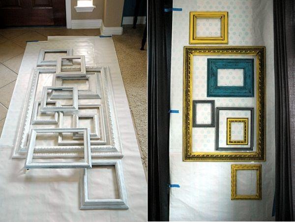 Diy Layered Frame Gallery Wall