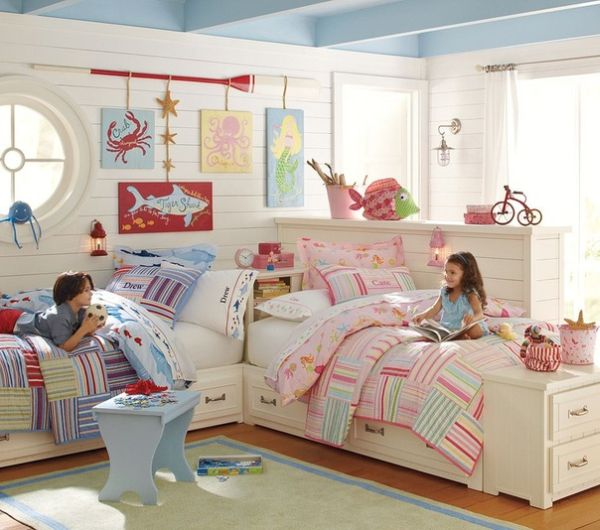 Kids Room Design: 15 Bedroom Interior Design Ideas For Two-Kids