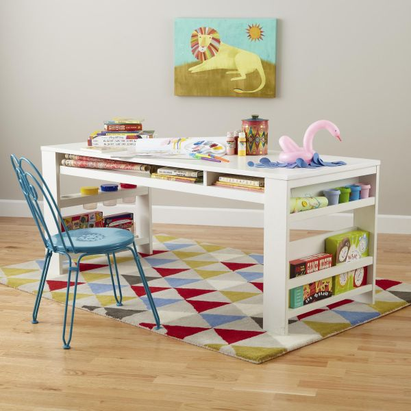 The Compartment Department Play Table, For Your Kid And All His Supplies Pictures