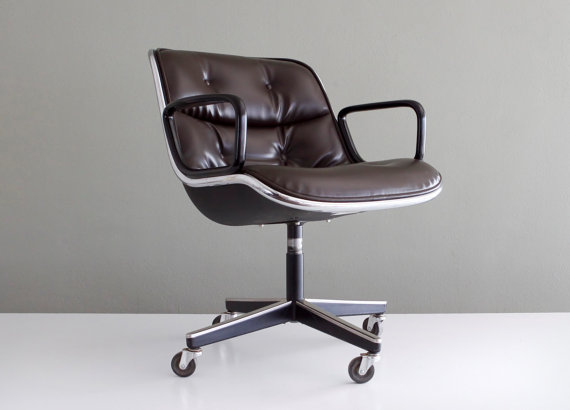 Merveilleux The Charlie Pollock Executive Chair, An Icon Of Mid Century Modern Design