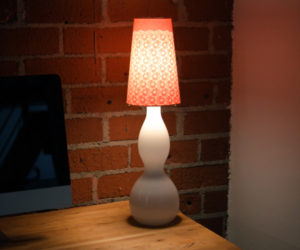 Add some style to your beside lamp is just 20 minutes