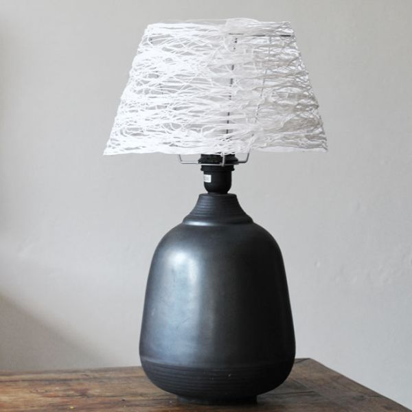 How to make a yarn lampshade using simple methods keyboard keysfo Images