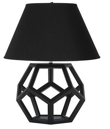 Marvelous Modern Lamp With Geometrical Base From Ralph Lauren